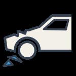 [Translate to Englisch:] Unfallschaden - Icon