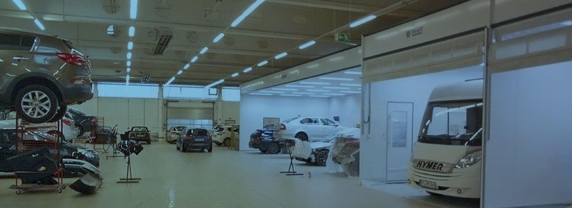 IRS Schott Werkstatthalle